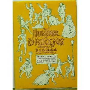 Book cover of The Humour of Dickens featuring several characters