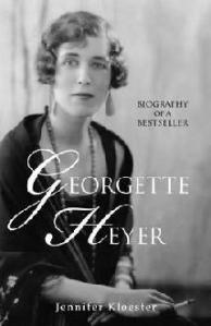 portrait of Georgette Heyer in evening dress