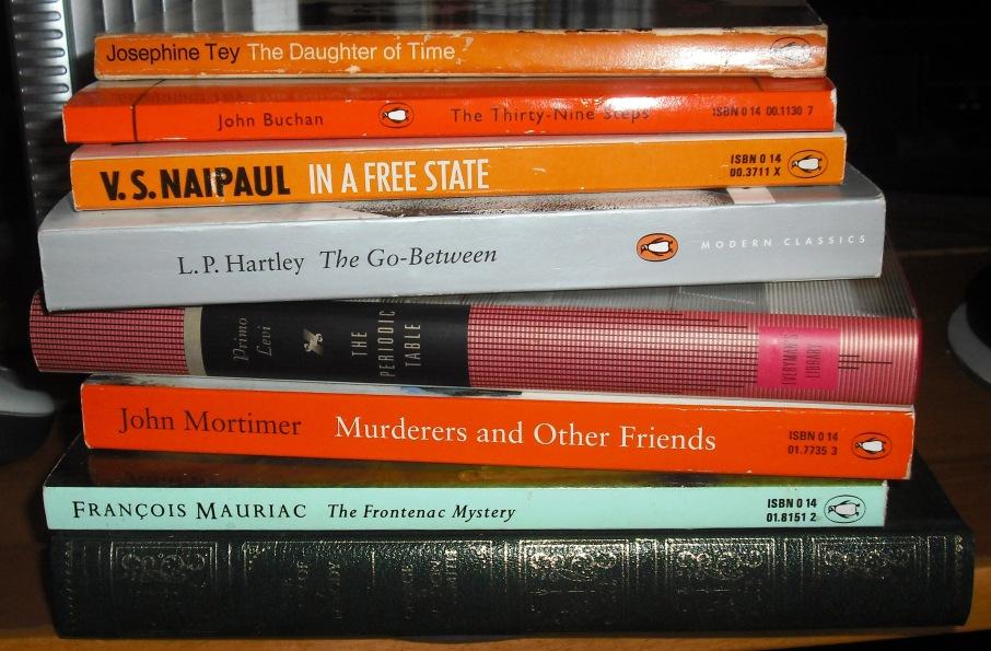 A pile of classic novels
