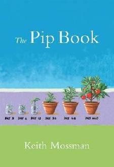 cover of the Pip Book with plants in pots