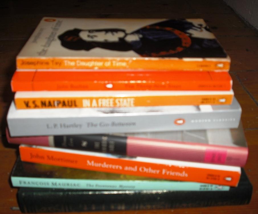 stack of classics