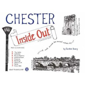 Black and white sketches of Chester