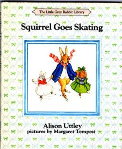 Squirrel Goes Skating