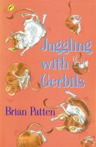 book jacket with seven gerbils