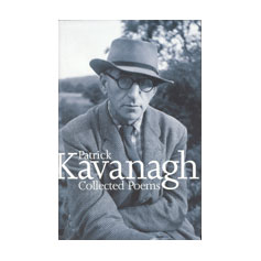 book jacket with portrait of Kavanagh