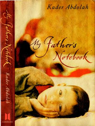 book jacket to My Father's Notebook by Kader Abdolah