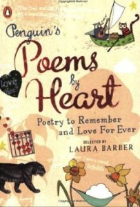 book jacket of Poems by Heart