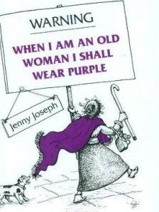 Jacket of Warning by Jenny Joseph