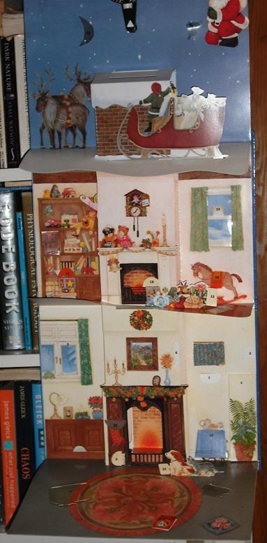 Advent Calendar Interior
