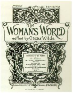 Magazine cover: The Woman's World