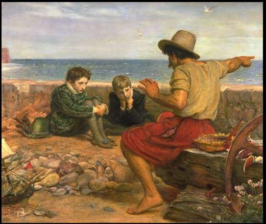Painting: The Boyhood of Raleigh