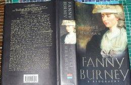 Cover of Fanny Burney: a Biography