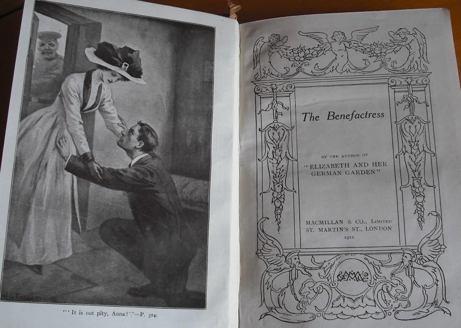 Title page & black & white illustration
