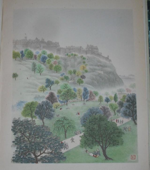 Painting of Edinburgh Castle